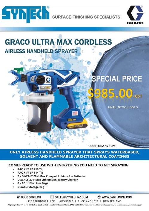 GRACO ULTRAMAX SPECIAL