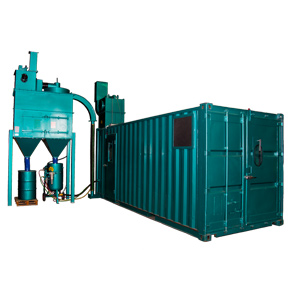 Containerised Blast booths
